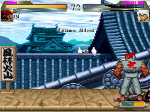 Akuma Mugen Character