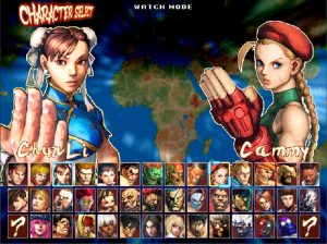 Street-Fighter-4-Ultra-Mugen-HD-select-screen