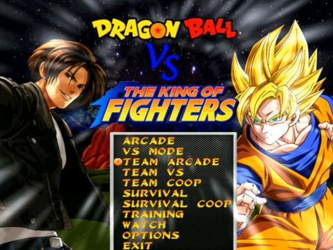 DragonBall_Vs_The_King_Of_Fighters_Mugen_Game