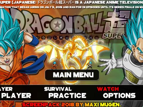Dragon Ball Mugen super sagas by Maxi Mugen