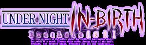 Under Night In-Birth-Logo