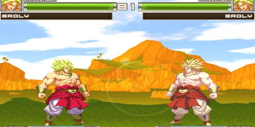 DBZ Extreme Butoden Broly Chars Download