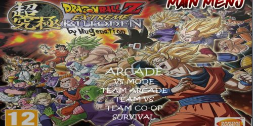 DragonBall Z Extreme Butoden 2019 Download by Mugenation