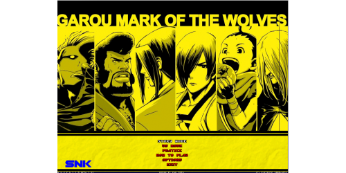 Garou Mark Of The Wolves Mugen Game Download