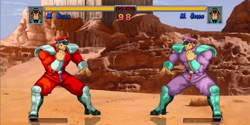 SFII HD M. Bison Mugen Characters download