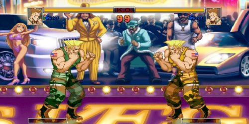 SFII HD Guile Mugen Characters download