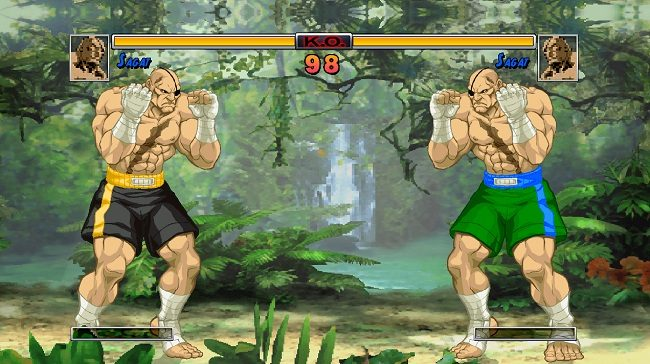 SFII HD Sagat Mugen Characters download